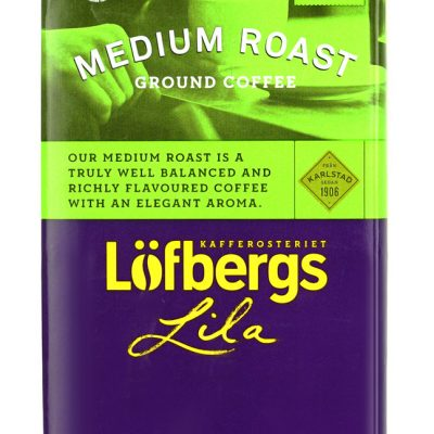Кофе молотый Lofbergs Lila Medium Roast 500г